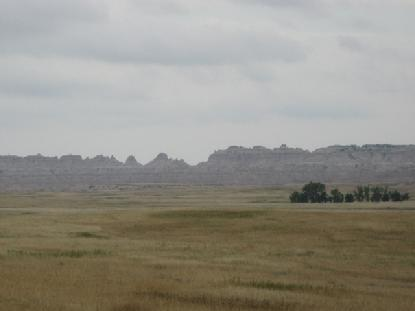 Luke decided to view the Badlands from a safe distance.