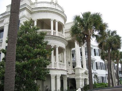 From these grand porches you can savor the ocean breeze in Old Charleston, South Carolina.