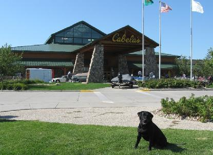 Luke knows Clarke likes to shop at Cabela's in Mitchell, SD.